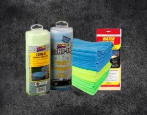 Microfibers, Towels & Chamois
