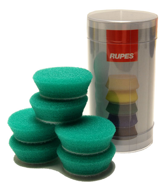 RUPES GREEN MEDIUM FOAM PADS