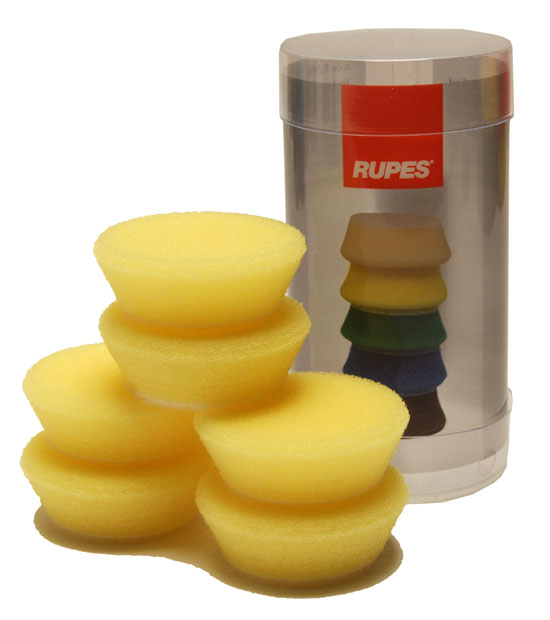 RUPES YELLOW FINE FOAM PADS
