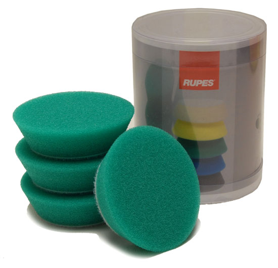 Rupes 70mm green foam pads