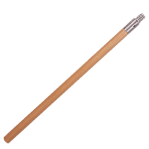 wood brush extension handle
